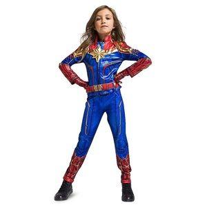 New Captain Marvel Costume Avengers Kids Size 9/10